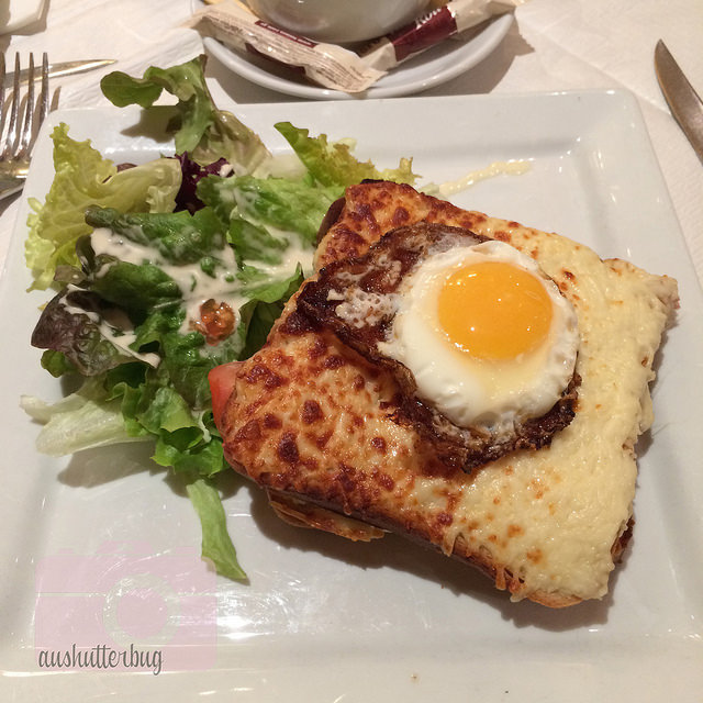 My first Croque-Madame