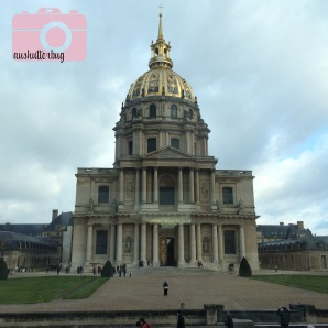 We drove by Les Invalides again