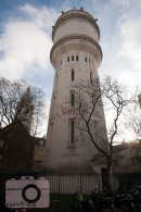 water tower in Montmartre