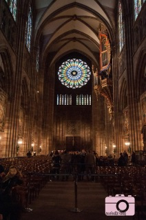 The rose window at Notre Dame de Strasbourg