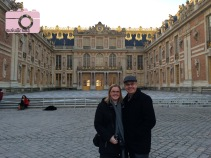 Me with my dad at Versailles