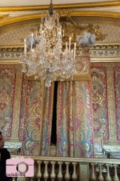 King Louis XIV's bed
