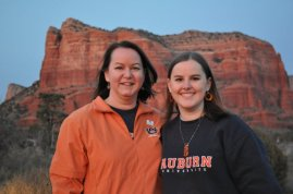 In Sedona before the National Championship
