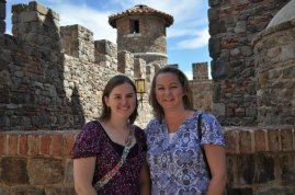 At Castello di Amorosa