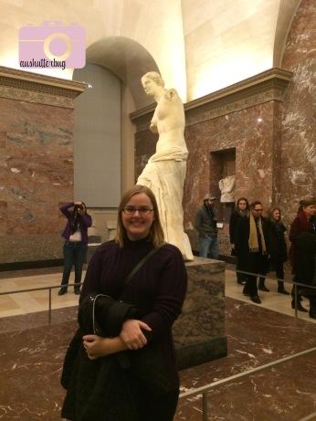 Me with Aphrodite (Venus de Milo)