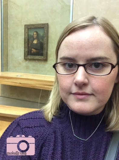 Me doing my best Mona Lisa smile