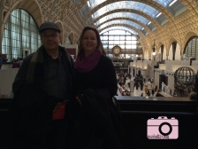 My parents at the Musee d'Orsay