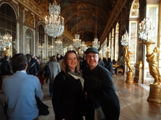 Mom and Dad in the Hall of Mirrors